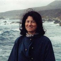 Annick Foucrier (près de Monterey, Californie, photo Denise Sallee)